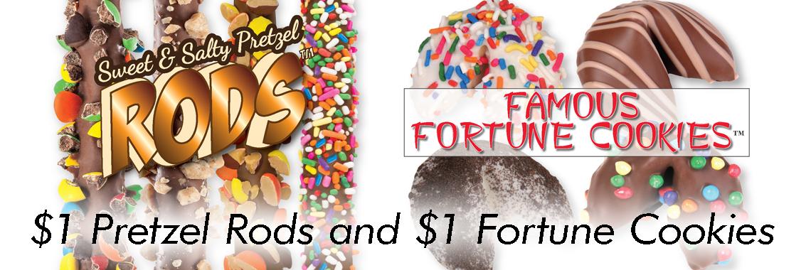 Pretzel Rods and Fortune Cookies